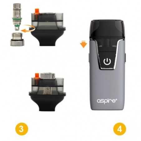 E-Juice Hangsen 10 ml. (70/PG 30/VG)