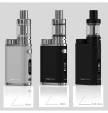 eLeaf iStick Pico kit TC 75W farve sølv sort og full black