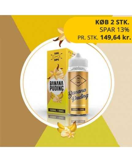 ELDA Banana Puding 100 ml