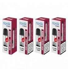 1 pk. Nordik e-pods Frugt Mix