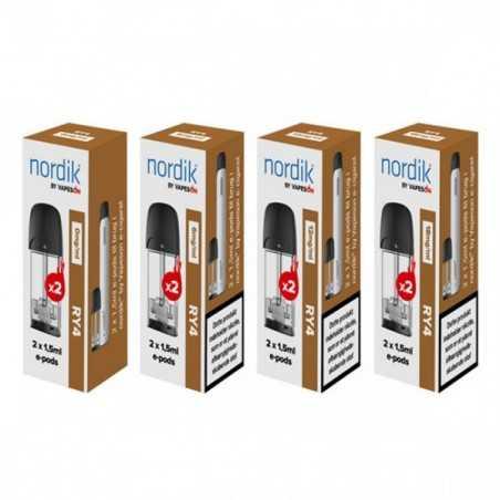 1 pk. Nordik e-pods RY4