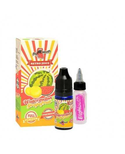 Big Mouth Retro Juice - Watermelon og Grapefruit