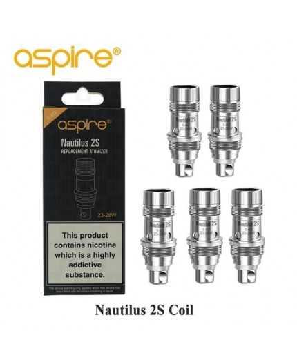 5 stk. ASPIRE - NAUTILUS 2S Coil