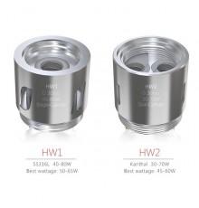 5 stk. ELeaf HW Dual cylinder Coil