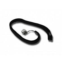 E-cigaret-halskæde sort/krom