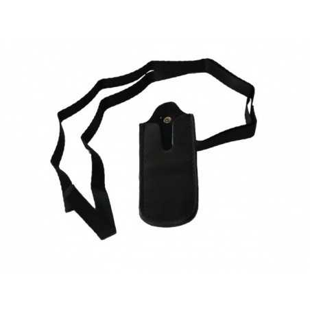 E-cigaret-halskæde i sort læder