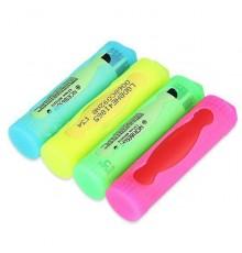 Silicone Etui til 18650 Batteri alle farver