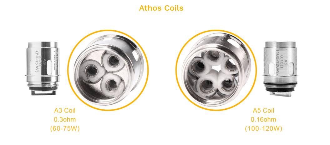 Athos coils til speeder 200W