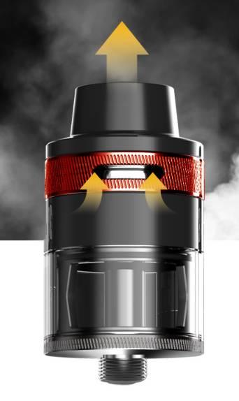 Revvo tank airflow