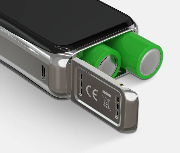 Buboid pro batteri 18650