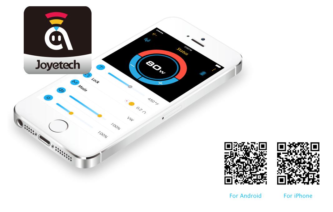 Viser mobil telefon med app fra Ocular