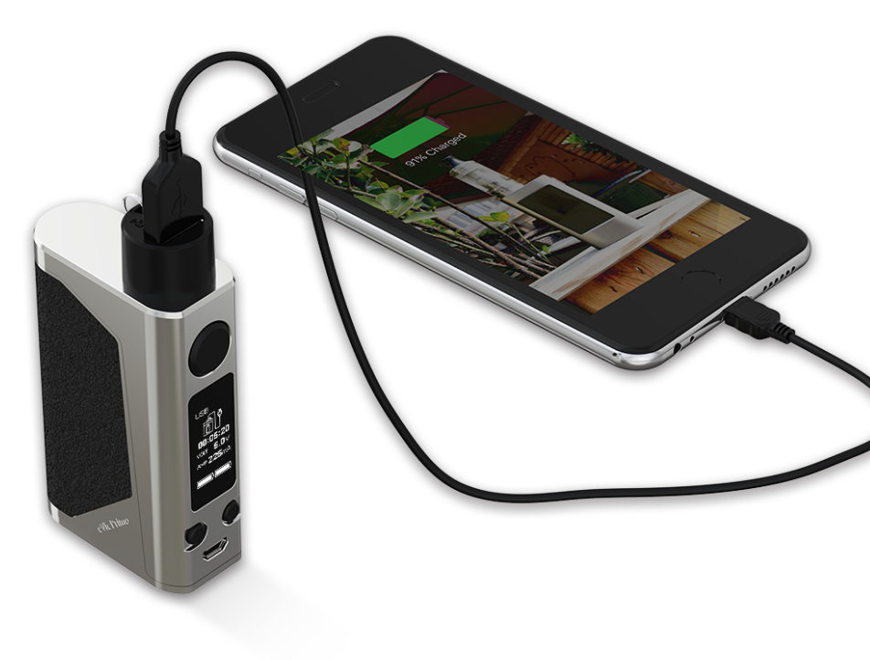 evic primo adaptor til powerbank