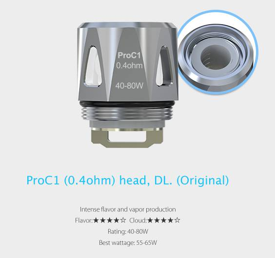 ProC1 coil til Procore motor atomizer fra Joyetech