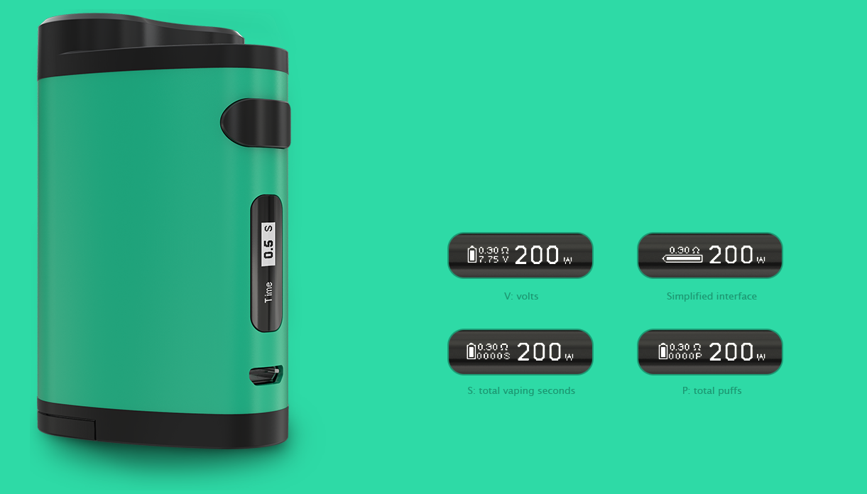 Pico Dual vælge display indstillinger
