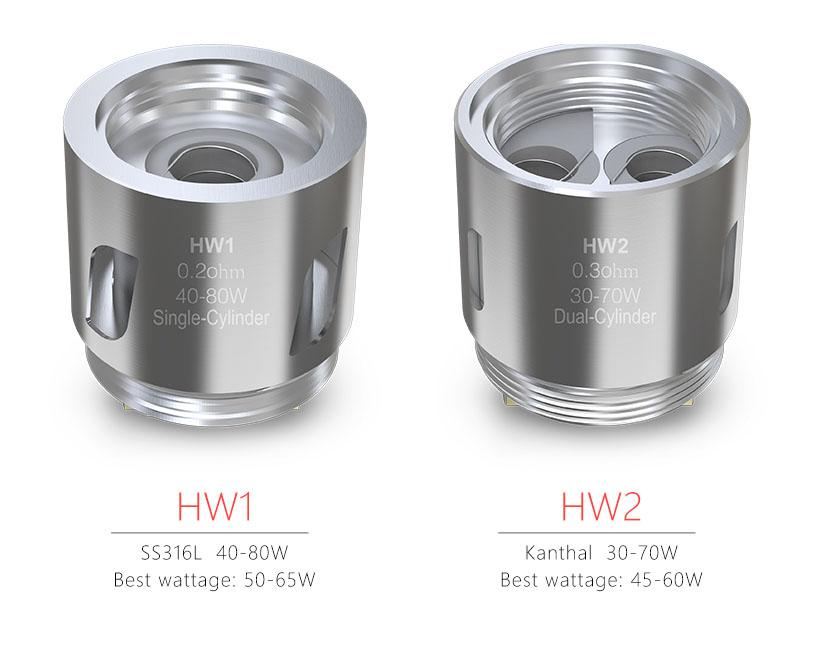 HW1 og HW2 coil